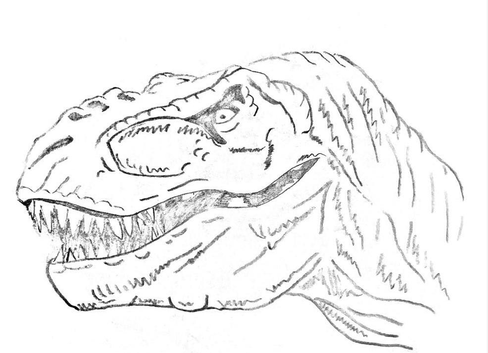 Tyrannosaurus Rex Dinosaurus